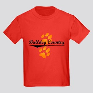 Bulldog Country Kids Dark T-Shirt