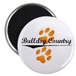 "Bulldog Country 2.25"" Magnet (100 pack)"