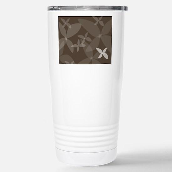 Flower Art (bark) Stainless Steel Travel Mug