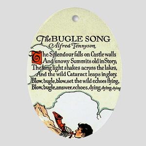 Bugle Song Keepsake (Oval)