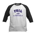Foil: Fencing Dept Kids Baseball Jersey