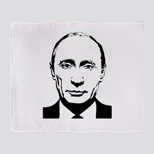 Vladimir Putin - Russian Russia Pres Throw Blanket