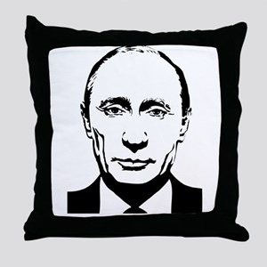 Vladimir Putin - Russian Russia Presi Throw Pillow