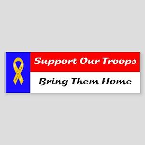 Troops Bumper Sticker