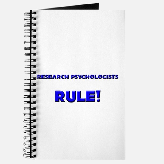Research Psychologists Rule! Journal
