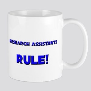 Research Assistants Rule! Mug