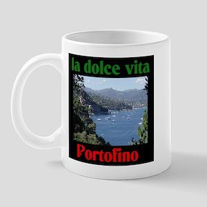 la dolce vita Portofino Italy Mug