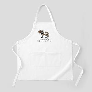 Too Cute Pony BBQ Apron