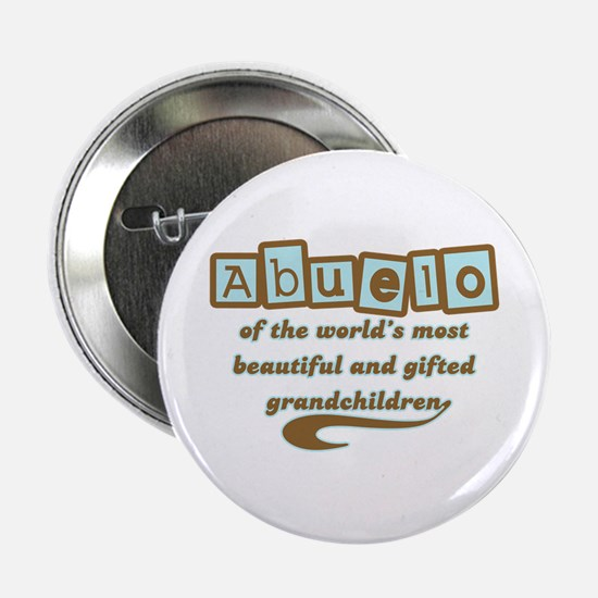 "Abuelo of Gifted Grandchildren 2.25"" Button"