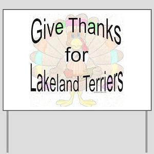 Thanks for Lakeland Yard Sign