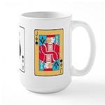 Mason Card Players Large Mug