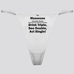 Masseuse Classic Thong