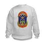 USS CHARLES BERRY Kids Sweatshirt
