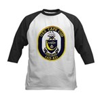 USS CAPE COD Kids Baseball Jersey