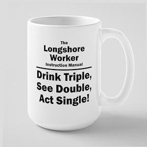 Longshore Worker Large Mug