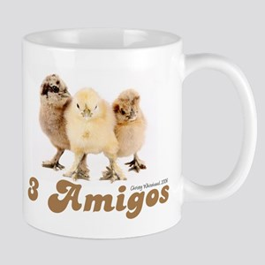 """3 Amigos"" chicks Mug"