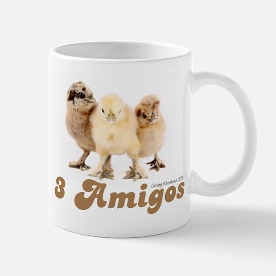 """""""3 Amigos"""" chicks Mug"""