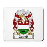 Napoli Family Crest Mousepad
