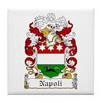 Napoli Family Crest Tile Coaster