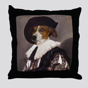 Italian Greyhound CAVALIER Throw Pillow