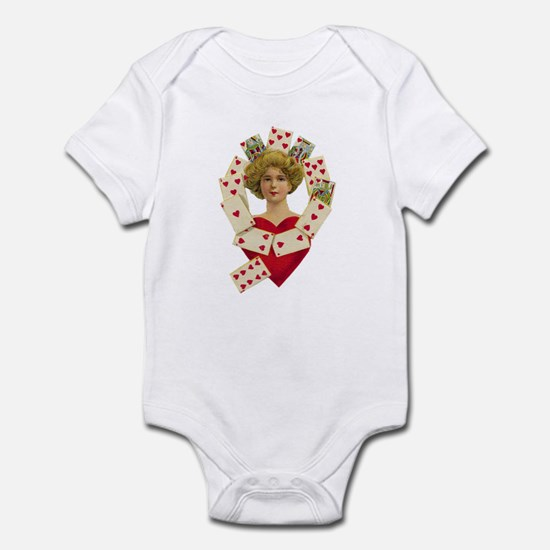 Queen of Heart Infant Bodysuit