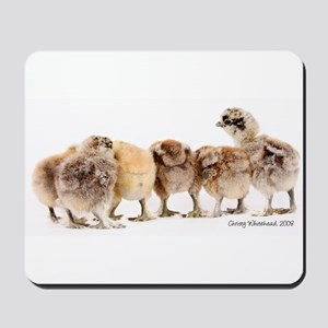 Chicken butts Mousepad
