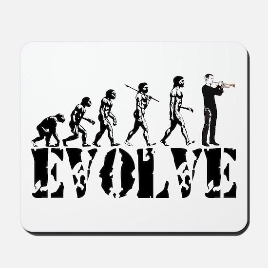 Trumpet Evolution Mousepad