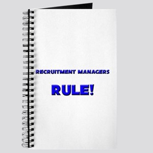 Recruitment Managers Rule! Journal