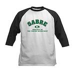 Sabre Fencing Dept Kids Baseball Jersey