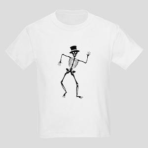 Dancing Skeleton Kids Light T-Shirt