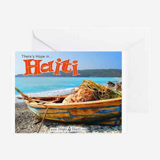 'Old Fishing Boat' Greeting Card