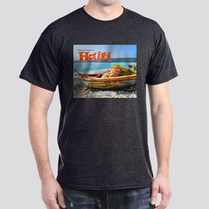 'Old Fishing Boat' Dark T-Shirt