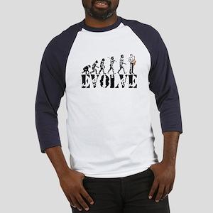 Sax Saxophone Evolution Baseball Jersey