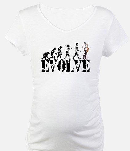 Sax Saxophone Evolution Shirt