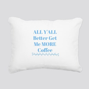 All Y'all Rectangular Canvas Pillow