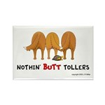 Nothin' Butt Tollers Rectangle Magnet (100 pack)