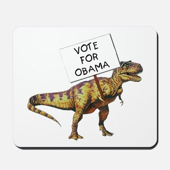 Obama Dinosaur Mousepad