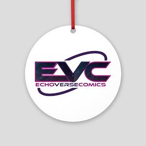 EchoVerse Comics Round Ornament