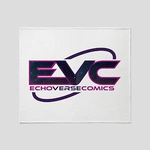 EchoVerse Comics Throw Blanket