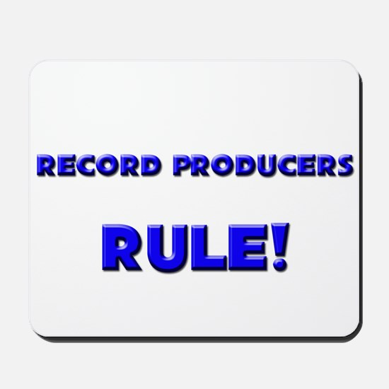 Record Producers Rule! Mousepad