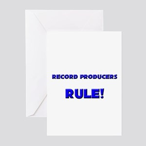 Record Producers Rule! Greeting Cards (Pk of 10)