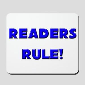 Readers Rule! Mousepad