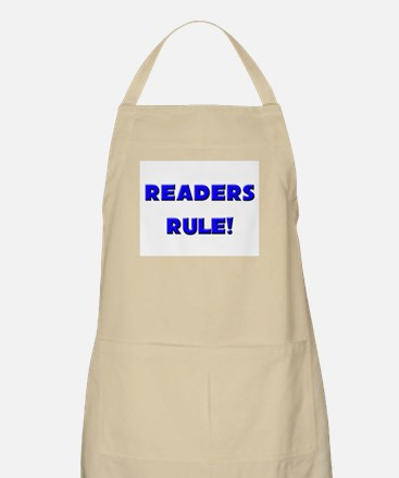 Readers Rule! BBQ Apron