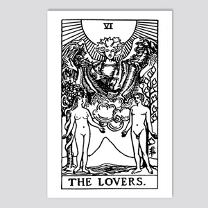 The Lovers Tarot Card Postcards (Package of 8)