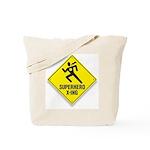 Superhero Sign Tote Bag