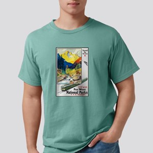 National Parks Travel Poster 6 T-Shirt