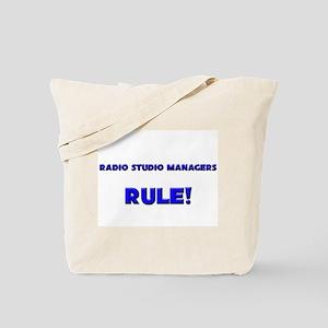 Radio Studio Managers Rule! Tote Bag