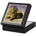 Cats in Egypt Keepsake Box