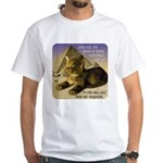 Cats in Egypt White T-Shirt