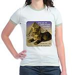 Cats in Egypt Jr. Ringer T-Shirt